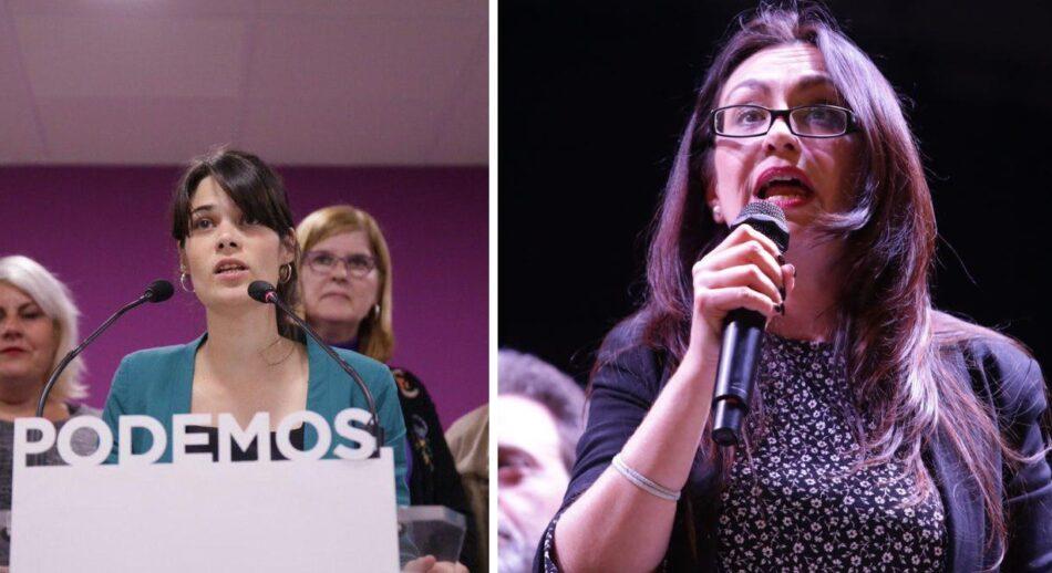 Podemos e Izquierda Unida concurrirán conjuntamente a las elecciones autonómicas en Madrid