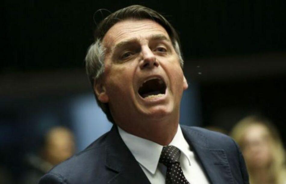 Jair Bolsonaro: «Brasil no puede ser un paraíso para el turismo gay, tenemos familias»