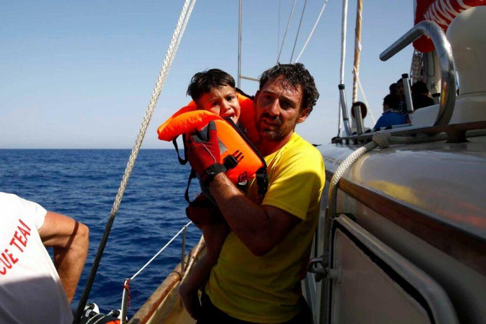 Oscar Camps, desde el Open Arms: «hay un bloqueo informativo sobre el Mediterráneo en unas elecciones en ciernes, es una maniobra muy pensada»