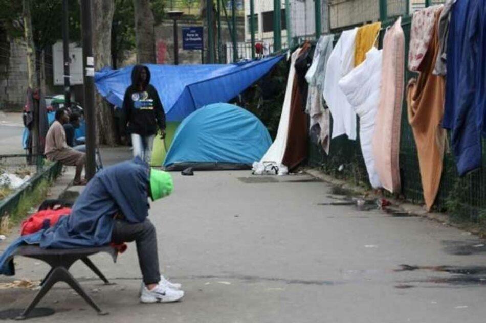 Organizaciones denunciarán compleja situación de migrantes en París