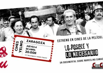 Estreno de la película «Lo posible y lo necesario» en Zaragoza