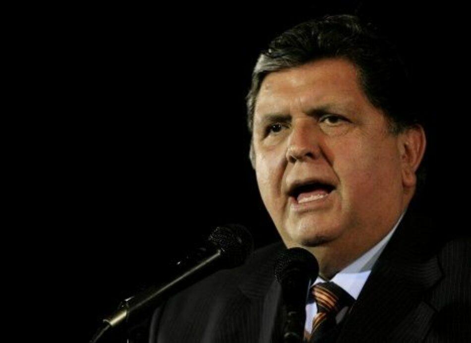 Fallece expresidente peruano Alan García tras dispararse al ser detenido por caso Lava Jato
