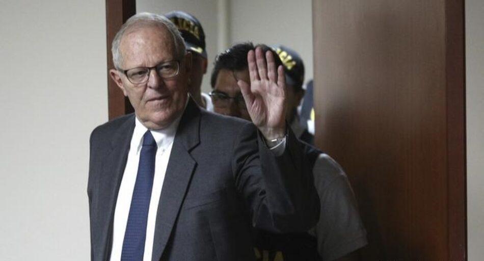 Los tribunales ordenas la detención domiciliaria del expresidente peruano Kuczynski