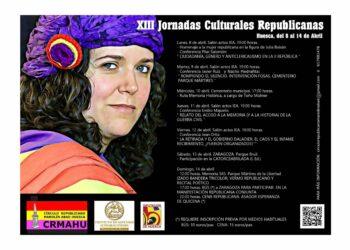 XIII Jornadas Culturales Republicanas en Huesca