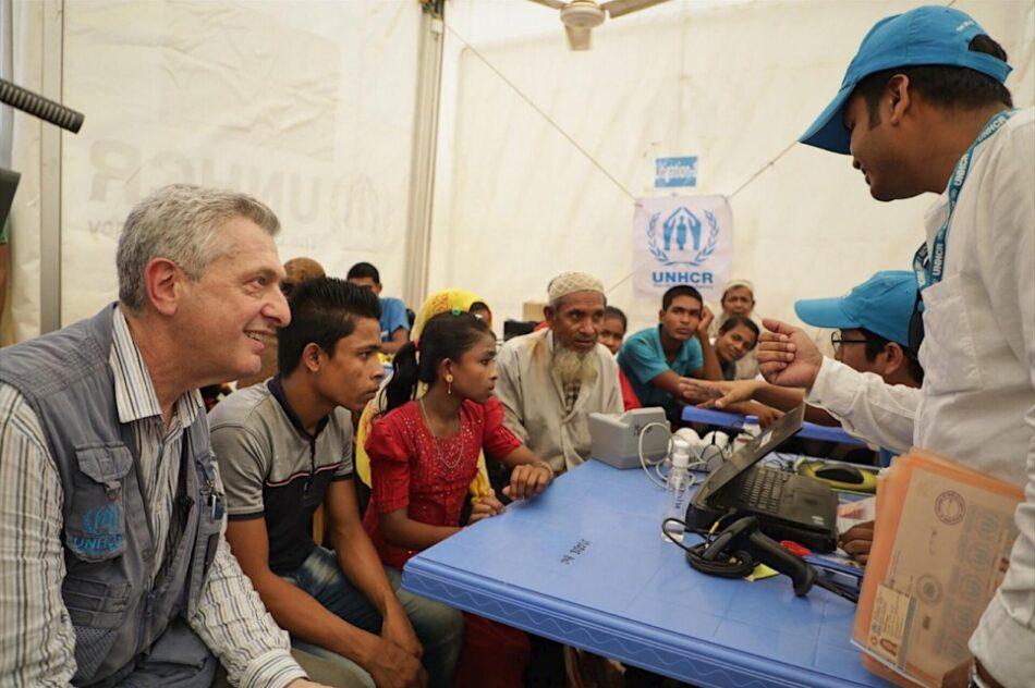 Naciones Unidas alerta sobre la situación de los refugiados rohingya en Bangladesh