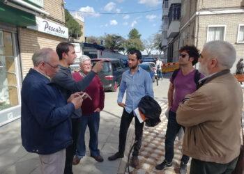 """IU y Participa Sevilla critican las chapuzas cometidas en la reurbanización del Greco por las """"prisas electorales"""" de Espadas"""
