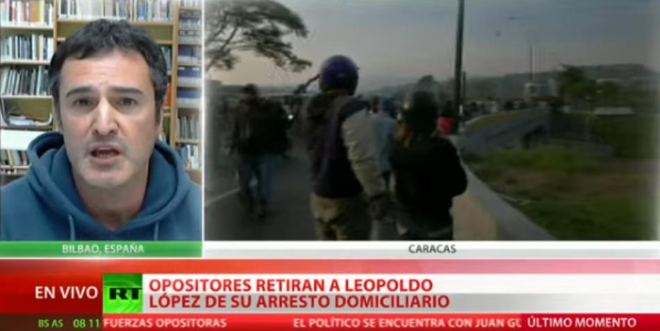 `Este nuevo golpe de estado busca la dosis de violencia que justifique la intervención en Venezuela´: Cubainformación TV en Russia Today