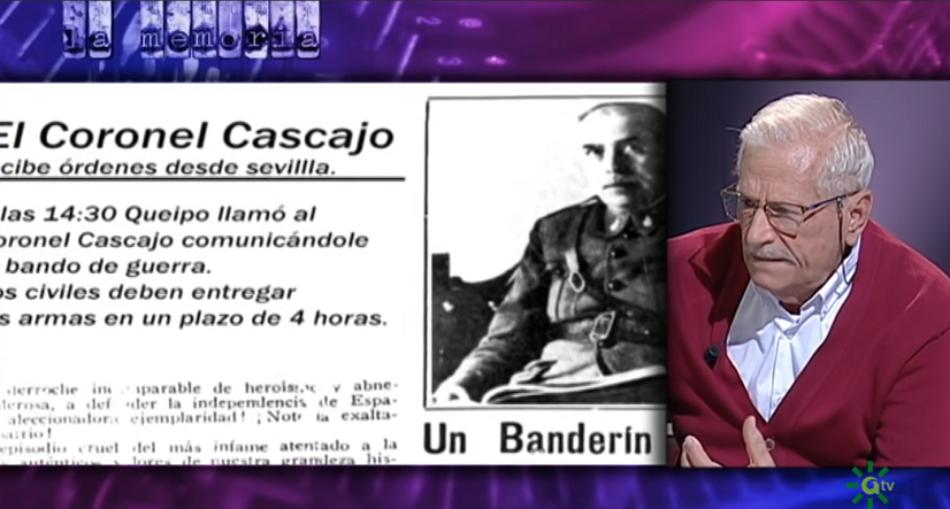Francisco Moreno Gómez: «hubo un programa de eliminación, de dar un escarmiento al sector republicano, a la clase obrera»