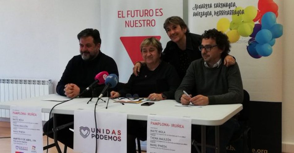"""IU de Navarra y Batzarre llaman a la izquierda a """"movilizarse para defender el autogobierno navarro en un contexto de recentralización autoritaria"""""""