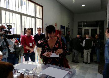 """Teresa Rodríguez llama a la participación masiva para que no """"le salga muy barato el escaño a la extrema derecha"""""""