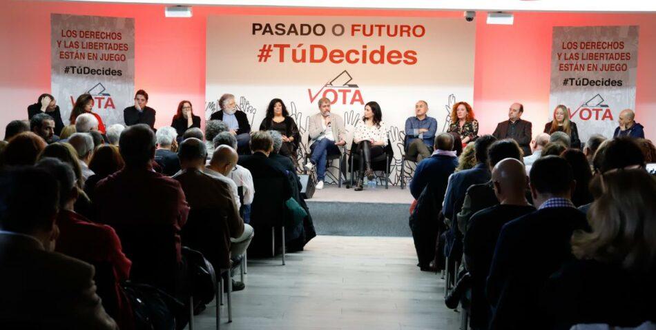 CCOO, UGT y el mundo de la cultura animan a votar y apoyar opciones progresistas el 28-A