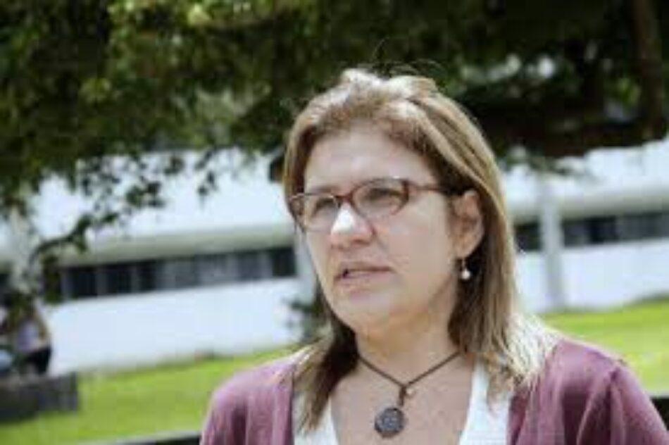 """Pascualina Curcio: """"El imperialismo no entiende la resistencia del pueblo venezolano"""""""