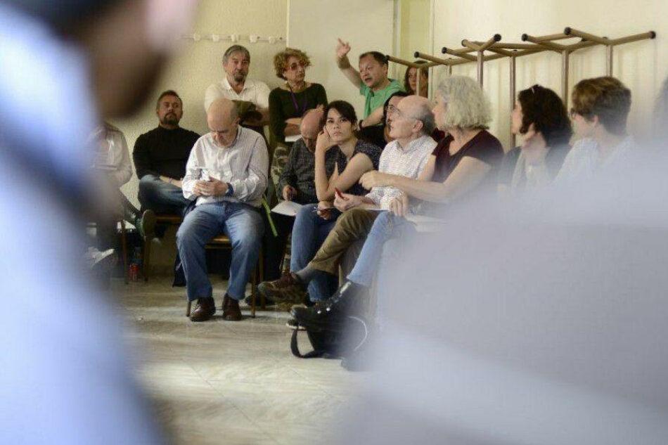 Podemos Comunidad de Madrid homenajea a sus círculos en un encuentro con la candidata Isa Serra