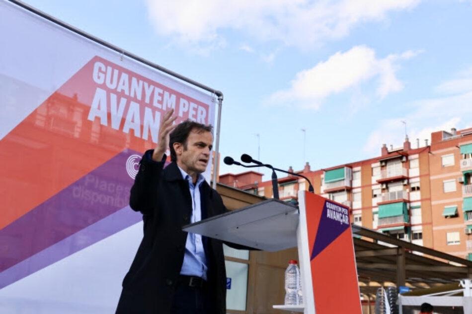 Asens: «A l'únic que li pot ser útil el vot al PSOE és a Rivera per acabar sent vicepresident»