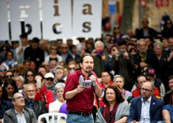 """Pablo Iglesias: """"España es millones de ciudadanos que tienen que trabajar en condiciones muy difíciles. ¿Por qué no se habla de esa gente?"""""""
