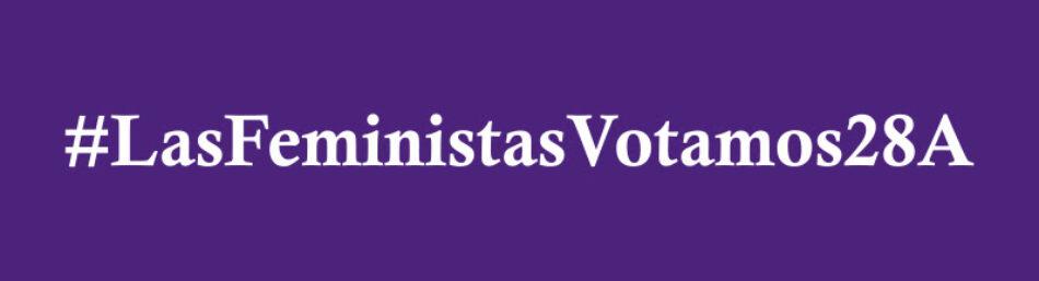 Organizaciones feministas presentan sus demandas a partidos políticos ante las Elecciones Generales