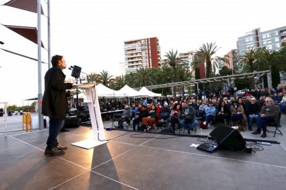 """Asens: """"Només hi haurà diàleg amb Catalunya si nosaltres estem al Govern"""""""