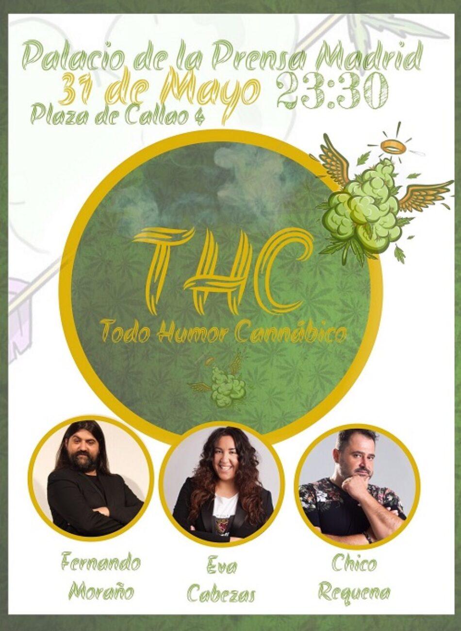 «THC: Todo Humor Cannábico»: Tres reputados cómicos cuentan sus experiencias con la marihuana