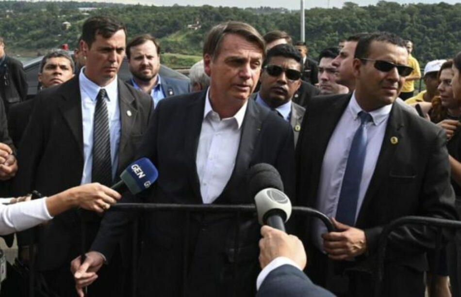 Bolsonaro tiene un «tsunami» bajo el brazo