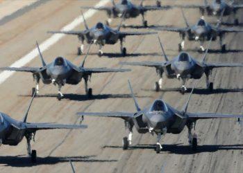 Pentágono envía varios cazas F-35 a una base aérea en Italia