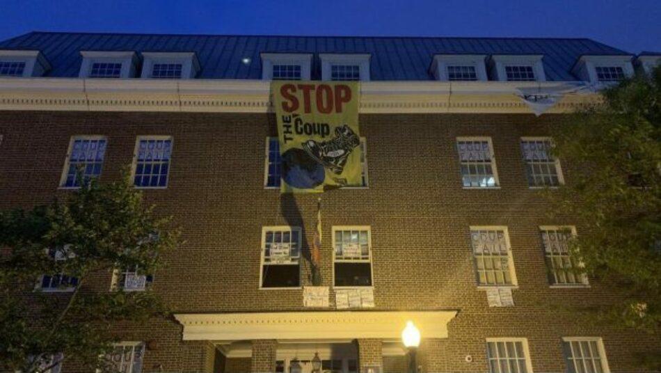 Policía de EE.UU ingresó ilegalmente a la embajada venezolana en Washington