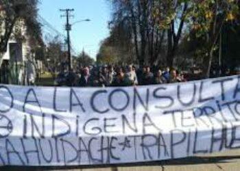 Nación Mapuche. Comunidades marcharon en contra de Consulta Indígena y privatización de tierras
