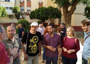 Adelante Sevilla destinará toda la promoción pública de vivienda al alquiler y el 5% del presupuesto municipal a garantizar el derecho a techo