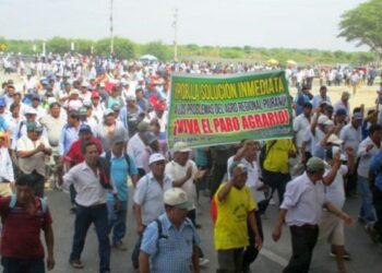 Perú: Contundente y combativo paro agrario que abarcó a más de medio millón de productores