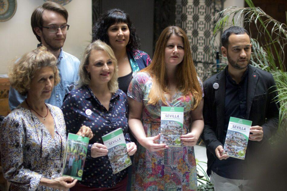 Adelante Sevilla concreta en 20 medidas clave su programa de gobierno para lograr una ciudad más habitable y con justicia social