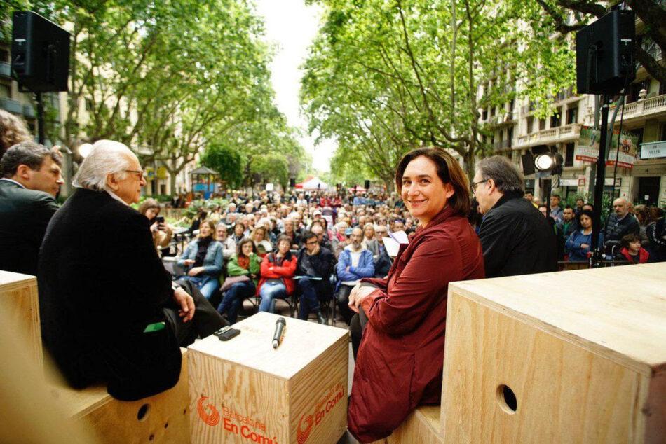 "Bill de Blasio, Dilma Rousseff, Noam Chomsky, Naomi Klein, Judith Butler, Susan George, David Harvey i Saskia Sassen demanen el vot per Ada Colau a la ""Carta oberta als veïns i veïnes de Barcelona"""