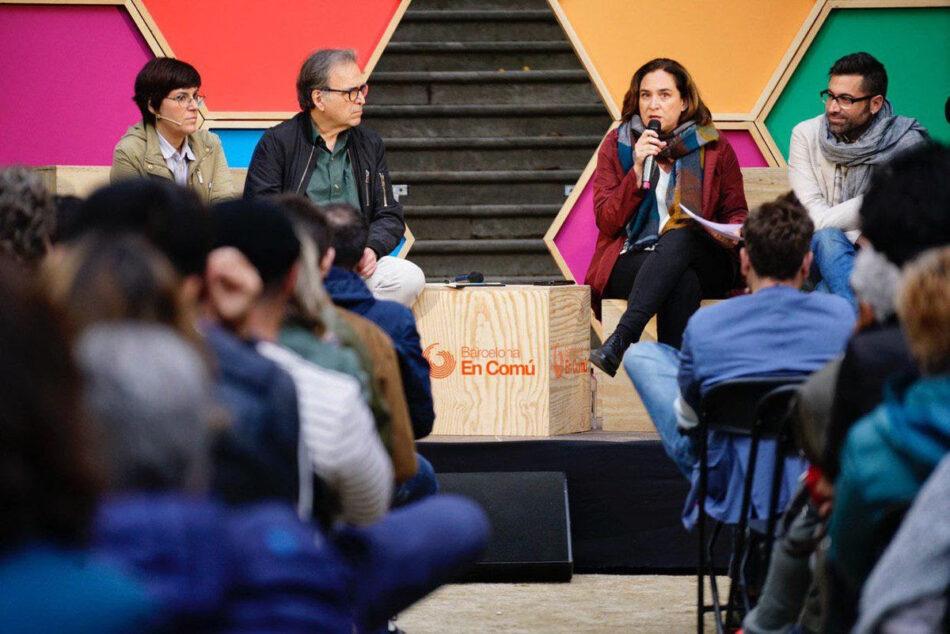 Ada Colau demana la bicapitalitat cultural per impulsar nous equipaments i fomentar la creació