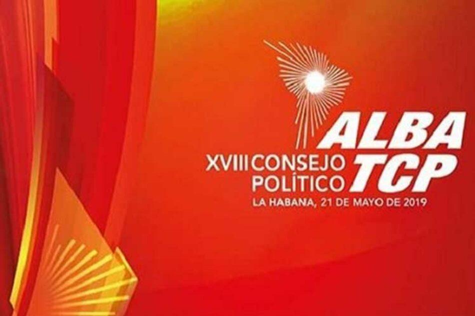 Sesiona en La Habana Consejo Político de ALBA-TCP