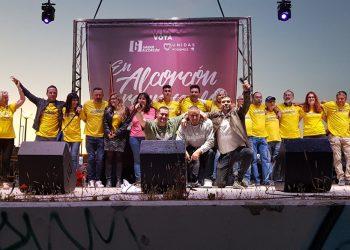 """Unidas Podemos Ganar Alcorcón cierra su mejor campaña con un festival de música en """"streaming"""""""