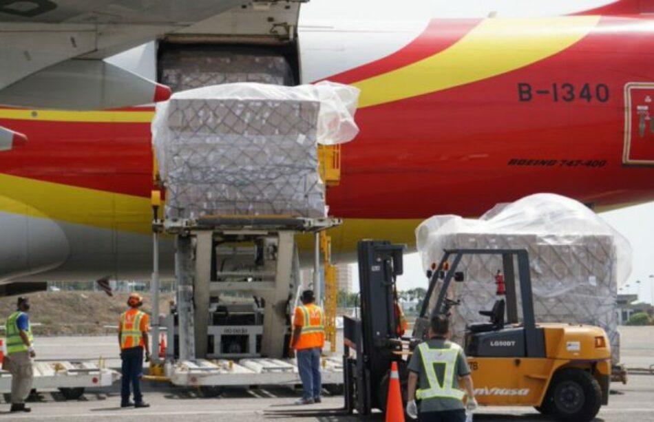 Venezuela. Arribó Asistencia Técnica Humanitaria proveniente de China
