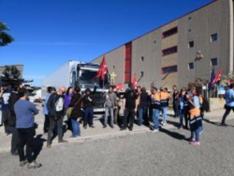 La vaga a Logista Pharma compleix el seu 16è dia i entra en una nova fase