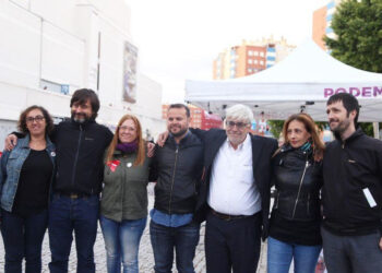 Unidas Podemos apuesta en Fuenlabrada por un país vivo y con futuro, reflejo de sus ciudades y pueblos
