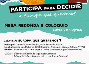 Amigos da Terra inicia a campaña «A Europa que queremos?»