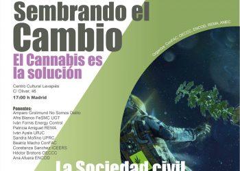Fin de semana por los derechos en Madrid.  El Cannabis es la solución; La Sociedad Civil por la regulación integral y social