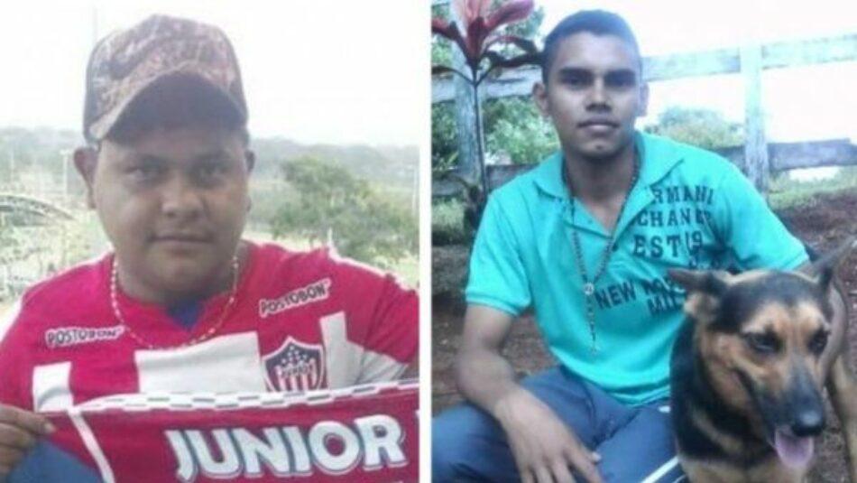 Denuncian el asesinato de jóvenes campesinos en el norte de Colombia