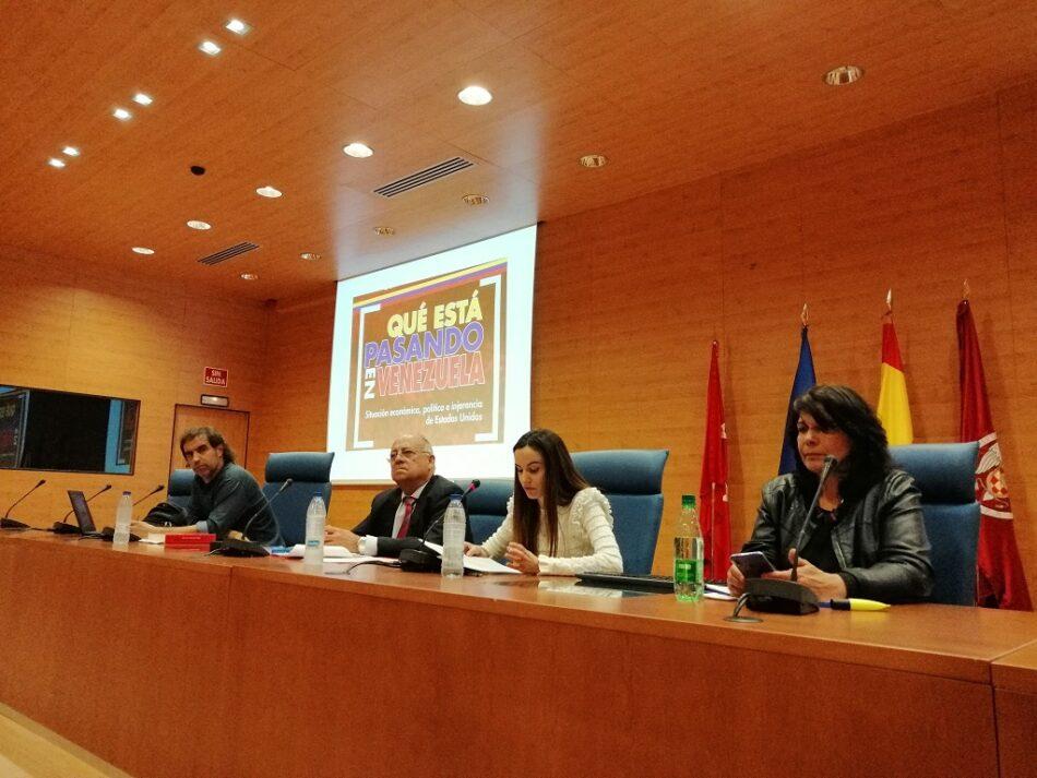 Exponen en Universidad Complutense de Madrid  efectos perversos del ilegal bloqueo a Venezuela