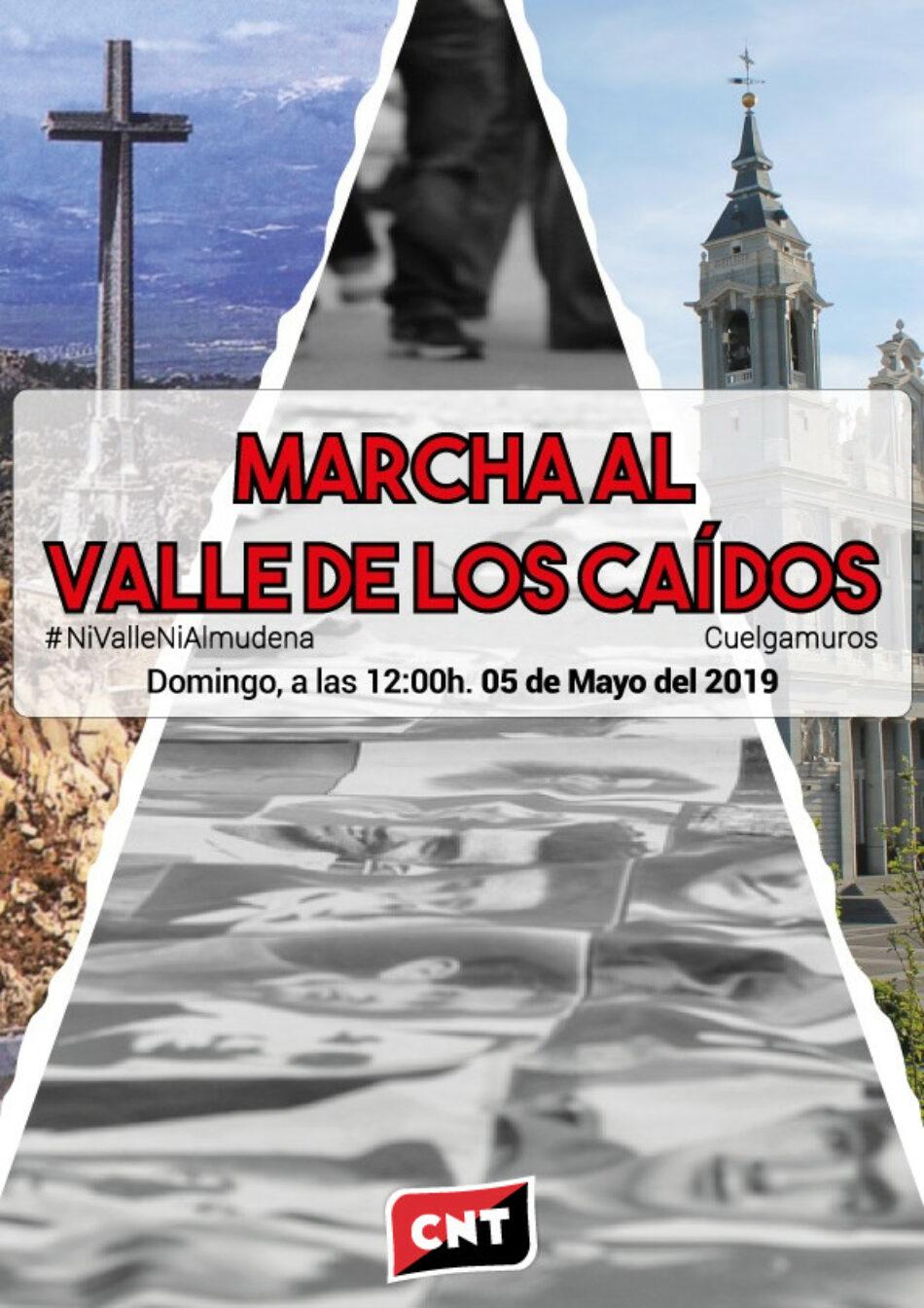 CNT se concentrará en el Valle de los Caídos este domingo, 5 de mayo