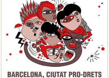 Un centenar déntitats i 250 activistes donen suport al comunicat «Barcelona Ciutat Pro-drets»