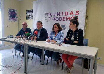 """Enrique Santiago respalda en La Rioja las listas de Unidas Podemos y llama a la """"movilización de la juventud y de la clase trabajadora"""" para derrotar a la derecha"""