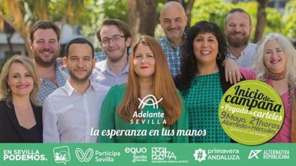 Adelante Sevilla combatirá la precariedad en la juventud con planes de empleo, ayudas a la vivienda y medidas en favor del ocio