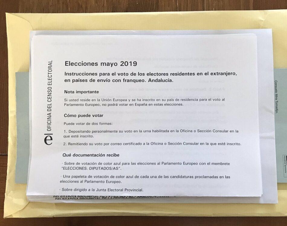 """IU, """"satisfecha"""" por la nueva decisión de la JEC de ampliar 'de forma excepcional' la apertura de los consulados los días 25 y 26 para poder votar desde el extranjero"""