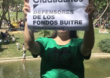 El último Escrachazo por una Ley de Vivienda para Madrid