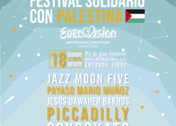 Festival solidario con Palestina – Gala de boicot a Eurovisión 2019