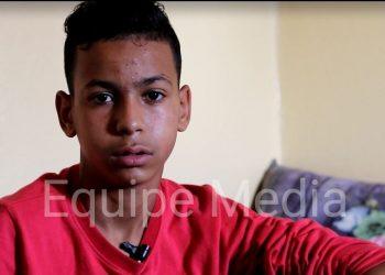 Las fuerzas de ocupación marroquíes arrestan y torturan a Mbarek Bani, un menor saharaui