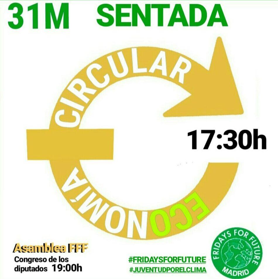 Fridays For Future convoca sentadas a lo largo de todo el territorio español este viernes 31 de mayo