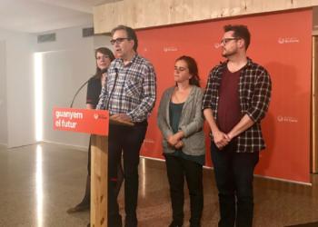 """Joan Subirats: """"Treballem per un acord de govern ampli de polítiques concretes d'esquerres que prioritzin la ciutat"""""""